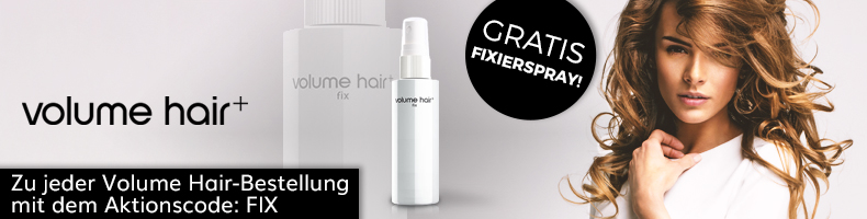 volume hair gratis Fixierspray