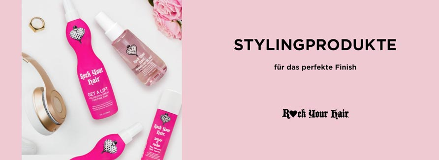 Rock your Hair  Stylingprodukte