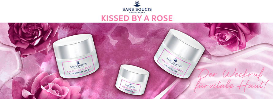 Sans Soucis Kissed by a Rose