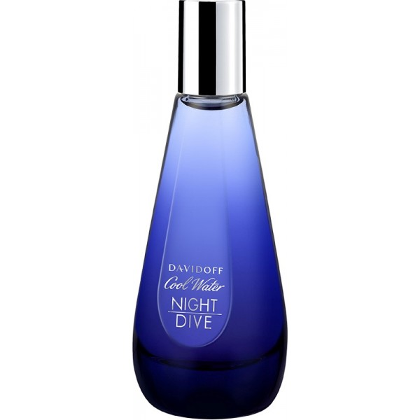 Davidoff cool water woman night dive eau de toilette edt - Davidoff night dive ...