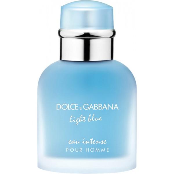 dolce gabbana light blue pour homme eau intense eau de parfum. Black Bedroom Furniture Sets. Home Design Ideas
