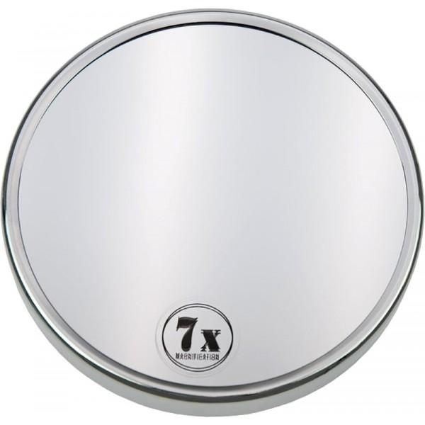 fantasia metall spiegel mit 3 saugn pfen 7 fach vergr szl. Black Bedroom Furniture Sets. Home Design Ideas
