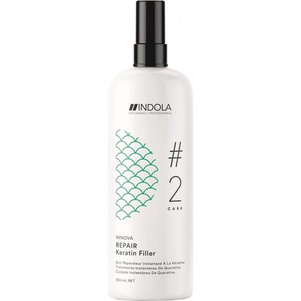 nr 'kur' hair repair tonic / repair excessive hair loss 200ml / tonic rambut