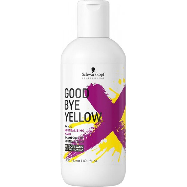 Schwarzkopf Goodbye Yellow Neutralisierendes Shampoo