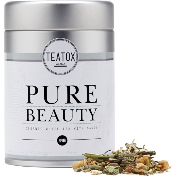 teatox pure beauty weisser tee mit mango 60 g 9 94. Black Bedroom Furniture Sets. Home Design Ideas
