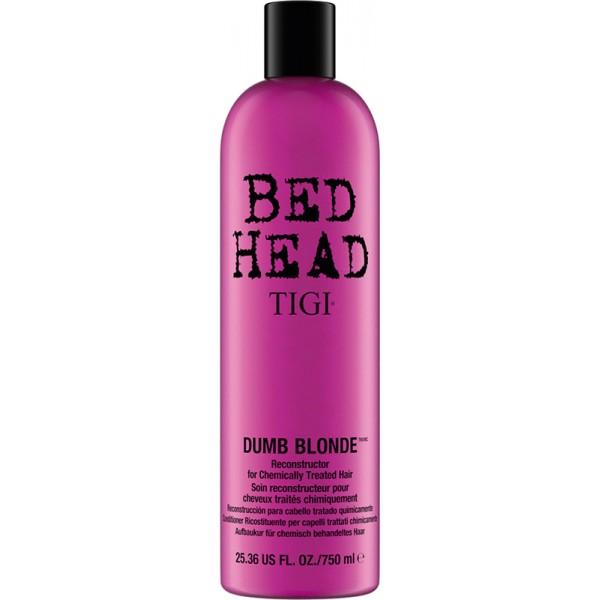 tigi bed head dumb blonde reconstructor conditioner 750 ml 26 11 eu. Black Bedroom Furniture Sets. Home Design Ideas