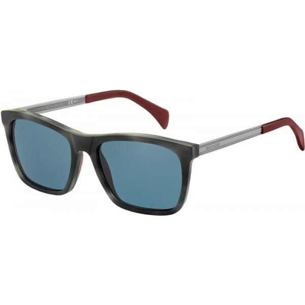 Tommy Hilfiger 1435/S Sonnenbrille Grau und Havanna H7Y 55mm 8tp5LI6sI