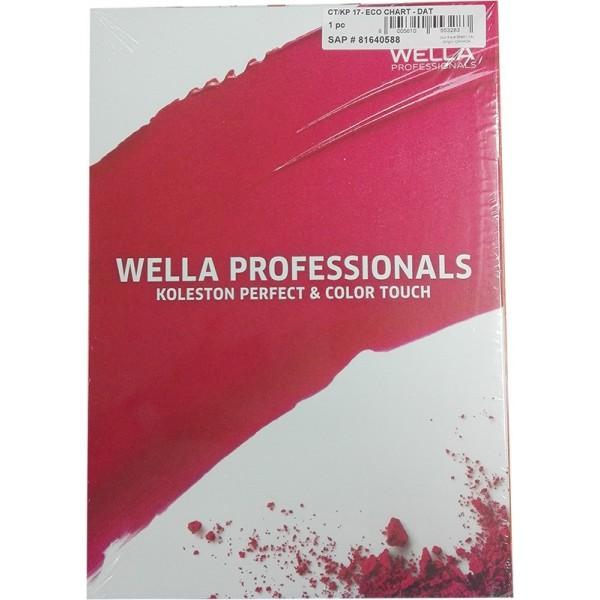 Wella Koleston Perfect & Color Touch Farbkarte Color Board