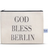 4LOU Vanity Bag Bless Berlin - 100% Canvas Swarovski...