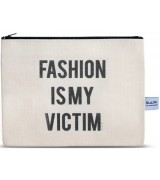 4LOU Vanity Bag Fashion Victim - 100% Canvas Swarovski...