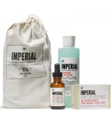 Aktion - Imperial Shave Bundle (Soap, Oil, Bergamot)