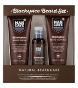 Aktion - Man Cave Blackspice Beard Set Bartpflege