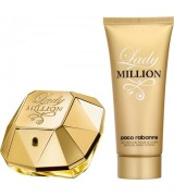 Aktion - Paco Rabanne Lady Million Geschenkset (EdP50/BL75)
