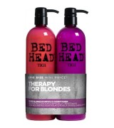 Aktion - Tigi Bed Head Dumb Blonde Tween Duo Shampoo +...