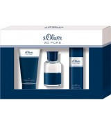 Aktion - s.Oliver So Pure Men Geschenkset (EdT30/SG75/Deo50)