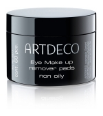 Artdeco Eye Make-up Remover Pads non oily 60 Stk.