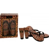 Badeset Animal Print in Papier-Geschenkbox inkl. Flip...