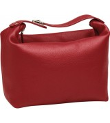 Erbe Collection Kulturtasche XXL, rot 29 x 22 cm, mit Henkel