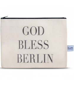 4LOU Vanity Bag Bless Berlin - 100% Canvas Swarovski Applikationen