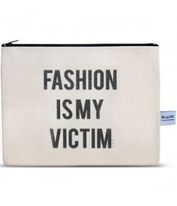 4LOU Vanity Bag Fashion Victim - 100% Canvas Swarovski Applikationen