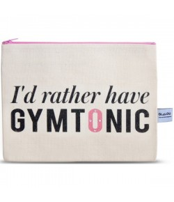 4LOU Vanity Bag Gymtonic - 100% Canvas Swarovski Applikationen