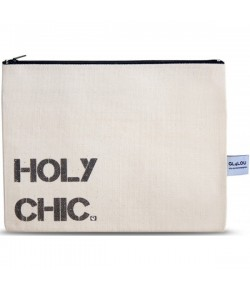 4LOU Vanity Bag Holy Chic - 100% Canvas Swarovski Applikationen