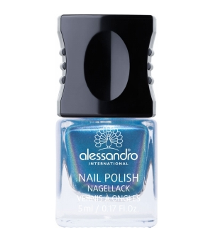 Aktion - Alessandro Colour Code 4 Nail Polish Electric Blue 5 ml