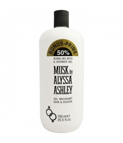 Aktion - Alyssa Ashley Musk Bath & Shower Gel 750 ml Sondergröße