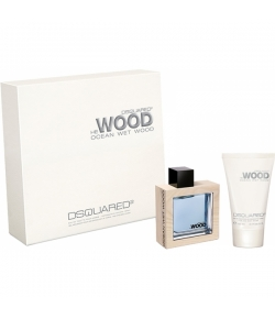 Aktion - Dsquared² He Wood Ocean Wet Wood Geschenk Set (EdT50/SG100)