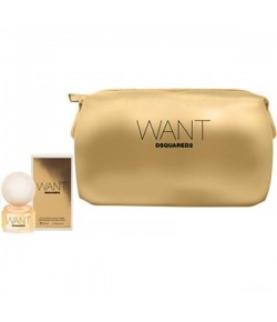 Aktion - Dsquared² Want Geschenkset (EdP50/Pouch)