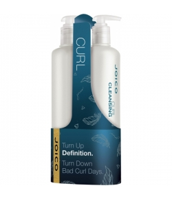 Aktion - Joico Curl Cleansing Set Shampoo + Conditioner 2x 500 ml