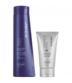 Aktion - Joico Daily Care Balancing Shampoo + Flex Control Paste