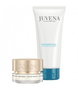 Aktion - Juvena Set Moisture Cream rich 50 ml + gratis Shower Gel 200 ml