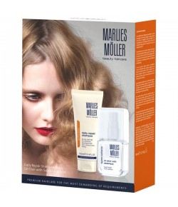 Aktion - Marlies Möller Set: Oil Elixir mit Sasanqua und Daily Repair Shampoo