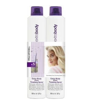 Aktion - Paul Mitchell Save On Duo Extra-Body Firm Finishing Spray 2 x 300 ml