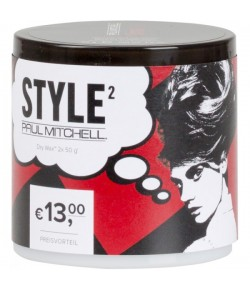 Aktion - Paul Mitchell FirmStyle Dry Wax 2 x 50 g
