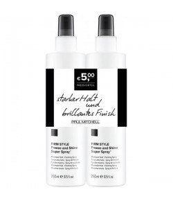 Aktion - Paul Mitchell Save On Duo Freeze And Shine Super Spray 2 x 250 ml