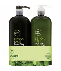 Aktion - Paul Mitchell Tea Tree Save Big On Duo Lemon Sage 2 x 1000 ml