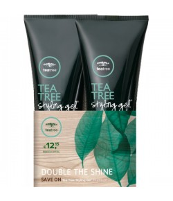 Aktion - Paul Mitchell Tea Tree Styling Gel 2 x 200 ml  - Buy One, Get One 50% Off