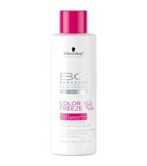 Aktion - Schwarzkopf BC Bonacure Color Freeze Rich Shampoo 100 ml