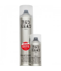 Aktion - Tigi Bed Head Hard Head Hairspray 385 ml + gratis Reisegröße 100 ml