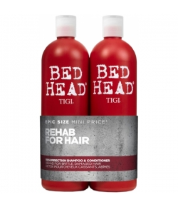 Aktion - Tigi Bed Head Resurrection Tween Duo Shampoo + Conditioner 2 x 750 ml