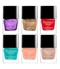 Aktion - butter London Glam Rock 6 Set - reisefreundliche Nagellacke