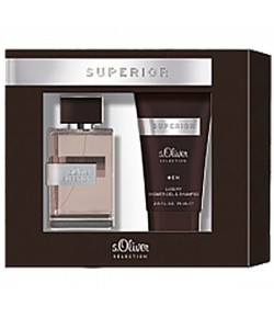 Aktion - s.Oliver Selection Superior Men Geschenkset Duo (EdT30/SG75)