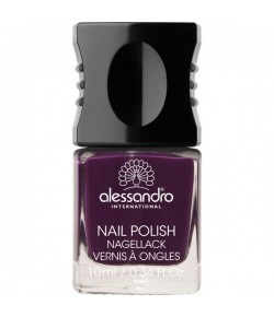 Alessandro Colour Code 4 Nail Polish 45 Dark Violet 10 ml