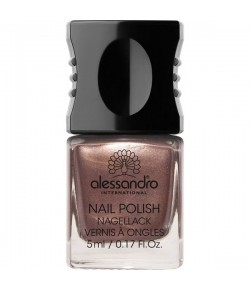 Alessandro Colour Code 4 Nail Polish 71 Brown Metallic 5 ml
