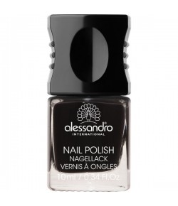 Alessandro Colour Code 4 Nail Polish 77 Midnight Black 10 ml