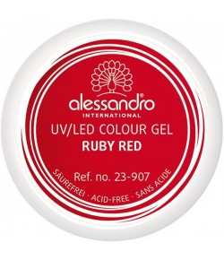 Alessandro Colour Gel 907 Ruby Red 5 g