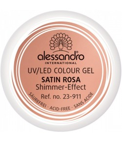 Alessandro Colour Gel 911 Satina Rosa Shimmer-Effect 5 g