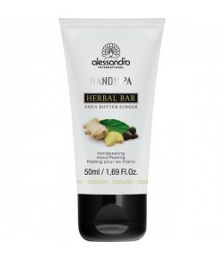 Alessandro Hand!Spa Herbal Bar Peeling Sheabutter/Ginger 50 ml